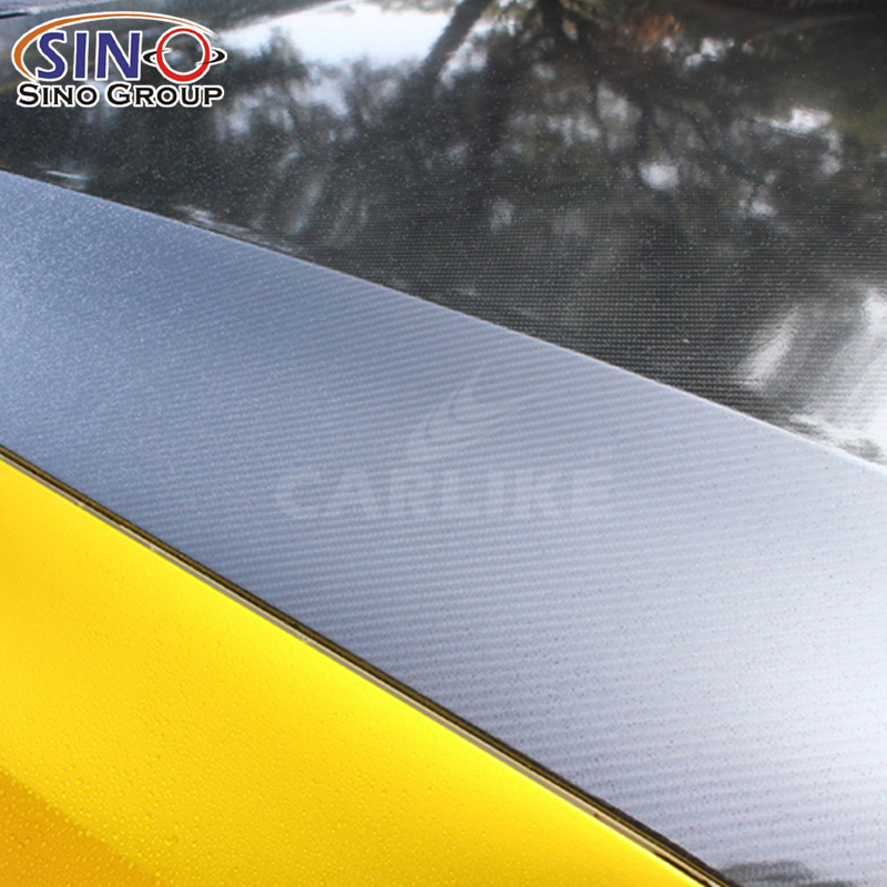 CARLIKE CL-6DCF Süper Parlak 6D Karbon Fiber Vinil